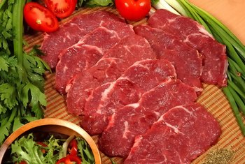 Red meat is an excellent source of iron and vitamin B-12.