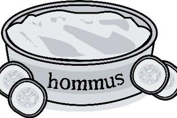 Hummus is a heart-healthy dish.