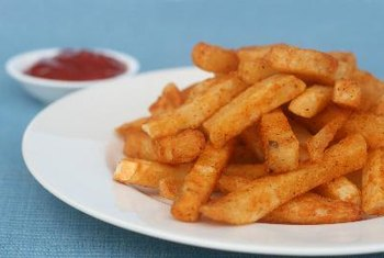 French fries are not a healthy choice for diabetics.