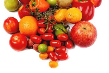 Fruits and vegetables are good fiber sources, especially if you eat the skin.