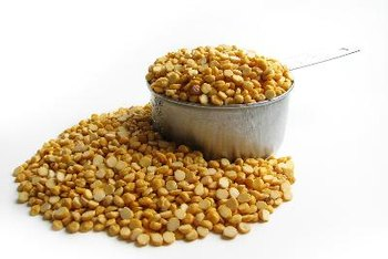 Lentils and other legumes are very high in protein