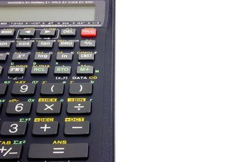 Scientific calculators are helpful when figuring mortgage payments on a loan.