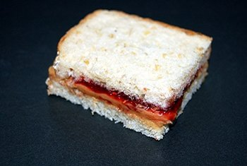 Classic peanut butter and jelly delivers vitamins and minerals.