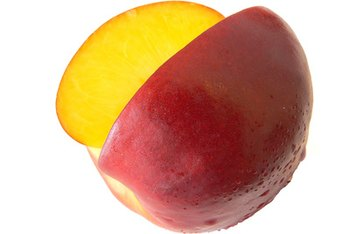 Nectarines are rich in beta-carotene, which also gives it its bright orange-red hue.