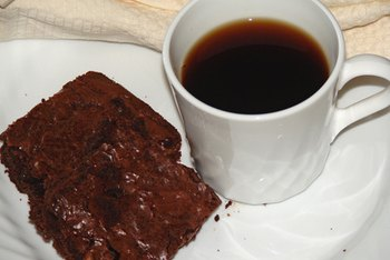Reduced sugar brownies have a rich flavor.