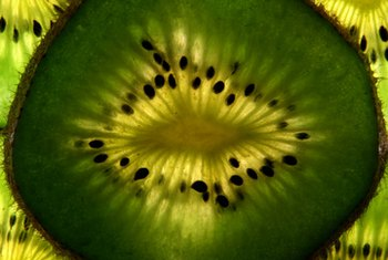Kiwi contains several vitamins and minerals that benefit your vision.