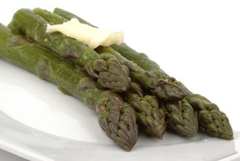 The carbohydrates in asparagus are released very slowly.