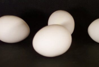 Arginine is found in eggs and other protein foods.