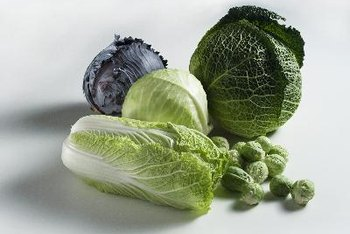 Green, leafy vegetables contain vitamin K.