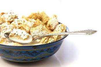 Many breakfast cereals are fortified with vitamin B12.