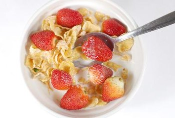 Ready-to-eat cereal is convenient and nutritious.