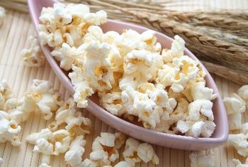 Healthy popcorn balls are simple to make.
