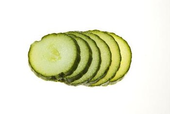 Cucumbers are full of nutrients and low in calories.