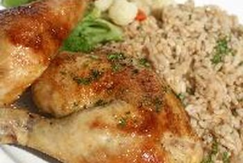 Chicken is leaner, providing much less saturated fat.