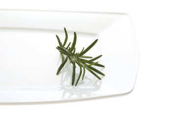 Rosemary is high in dietary fiber.