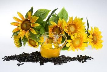 All varieties of sunflower oil are healthy.