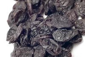 Prunes are rich in potassium and dietary fiber.