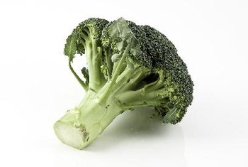 Broccoli is rich in water-soluble nutrients, such as vitamin C, folate and other B vitamins.