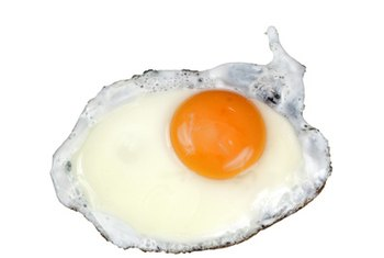 Eggs provide both good and bad fats.
