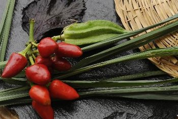 Lemongrass seasons foods and gives scent to perfumes.