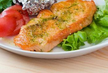 Salmon is a healthy alternative to meat and poultry.