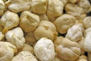 Besan flour is made from chickpeas.
