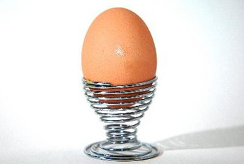 Hardboiled eggs provide protein and good fats.