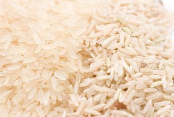 Choose whole grains like brown rice over refined grains like white rice.