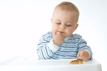 A 15-month-old is ready to move past baby foods.