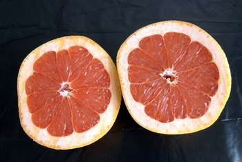 Eating grapefruit is healthier than drinking grapefruit juice.