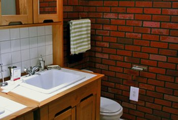 Even a small bathroom can benefit from an updating.