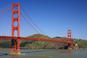 The Golden Gate Bridge in San Francisco, California