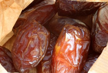 Dates are an excellent source of readily available energy.