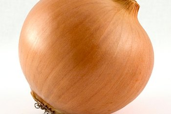 A medium yellow onion is a good source of manganese.