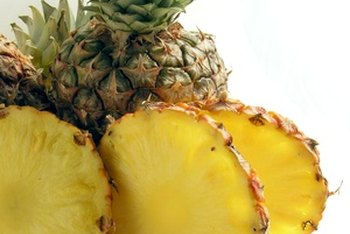 Pineapples are not a good source of potassium.