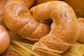Packaged crescent rolls are available at most supermarkets.