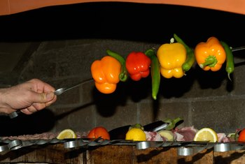 Grilling non-starchy vegetables can make them tastier.