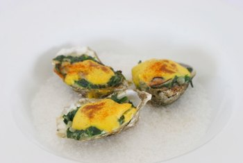 Oysters are an excellent food source of zinc.