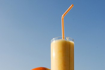 Smoothies are a refreshing way to get your daily intake of fruits and vegetables.