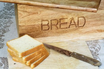 Carbohydrates are the main macronutrient in bread.