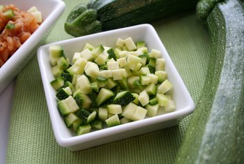 Zucchini contains less fiber compared to most other vegetables.