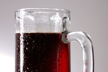 Dark beers are higher in iron than pale beers.
