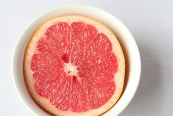 Eating pink grapefruit is good for your health.
