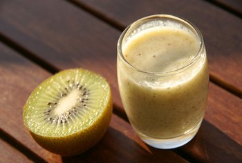 Smoothies can be a good way to add both nutrients and calories.