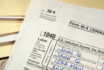 Copies of the borrower's prior-year tax returns are needed during mortgage processing.