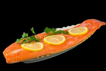 Salmon contains healthy fats.