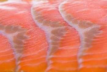 Salmon is a healthy source of vitamins B-6 and B-12.