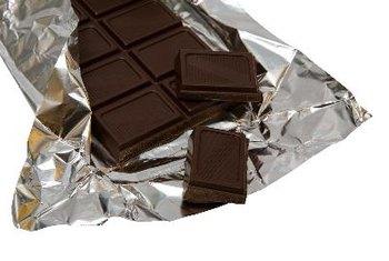 Caffeine free dark chocolate