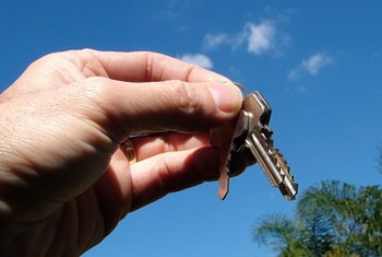 After you complete the closing, your lender will give you the keys to your new home.