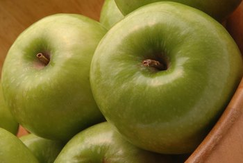 Granny Smith apples are full of antioxidants that improve health.
